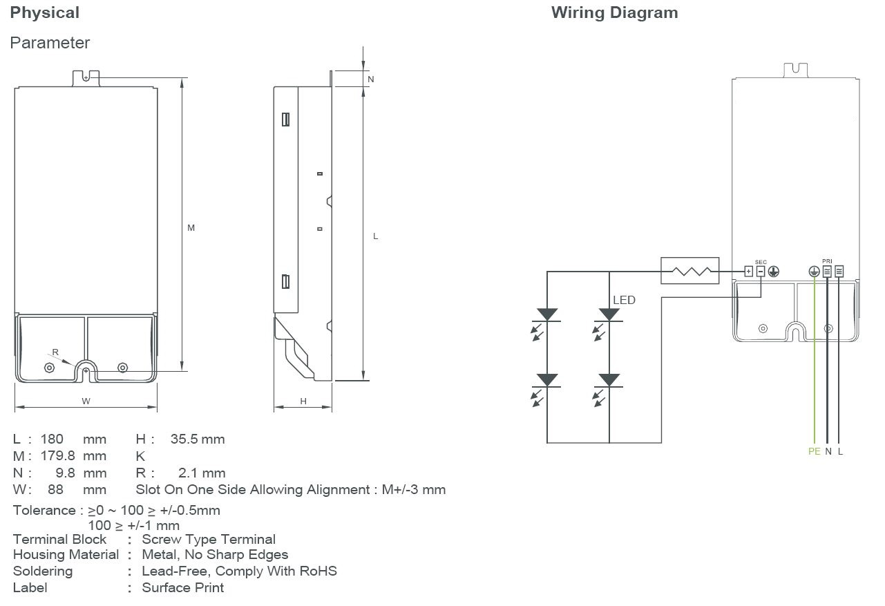 Lumidriver Accessories Sylvania Lighting Solutions Malaysia Wiring Rules Free Download Diagrams Pictures Technical Drawings Drawing 1